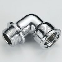 Coude MalexFemelle Chrome